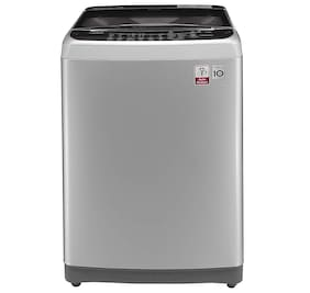 LG 7 Kg Fully Automatic Top Load Washing Machine (T8077NEDLY, Free Silver+Burgundy)
