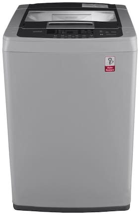 LG 7 kg Fully automatic top load Washer only - T8069NEDLH , Grey
