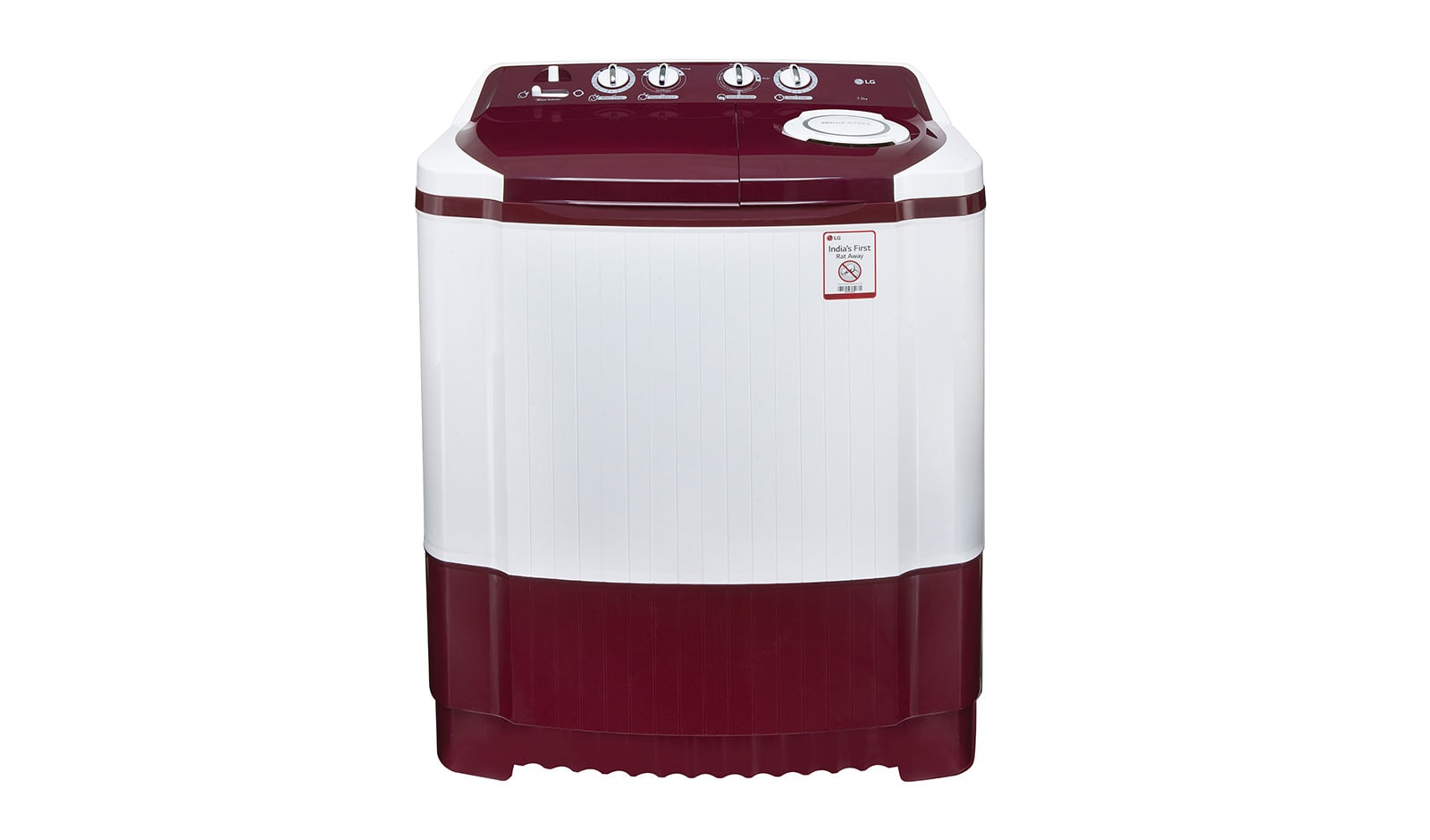 LG P8073R3FA 7KG Semi Automatic Top Load Washing Machine