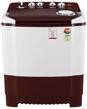 LG 7 Kg Semi automatic top load Washing machine - P7010RRAY , Burgundy