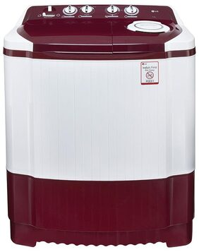 LG 7 Kg Semi Automatic Top Load Washing Machine ( P8073r3fa , Burgundy )