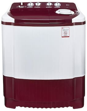 LG 7 Kg Semi Automatic Top Load Washing Machine (P8073R3FA, Burgundy)