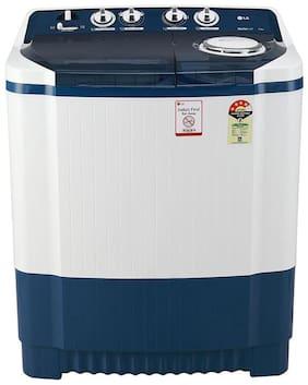 LG 7 kg Semi Automatic Top Load Washing machine - P7025SBAY , Dark blue