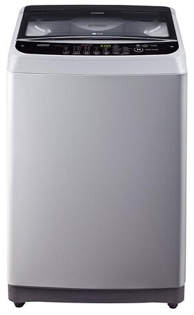 LG 7 Kg Fully Automatic Top Load Washing Machine (T8081NEDLJ, Middle Free Silver)