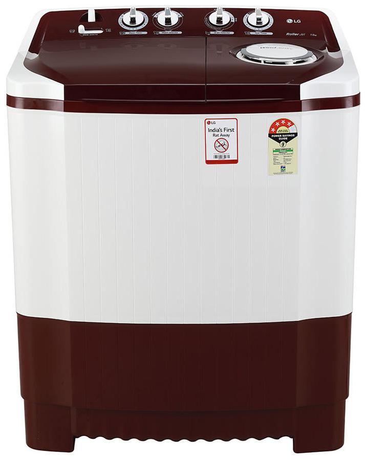 LG 7 Kg Semi Automatic Top Load Washing Machine (P7010RRAY, Burgundy)