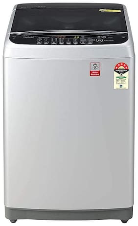 LG 8 kg Fully Automatic Top Load Washing machine - T80SJSF1Z , Silver