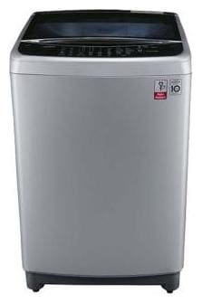 LG 8 Kg Fully Automatic Top Load Washing Machine (T9077NEDL1, Free Silver/Wine Black)