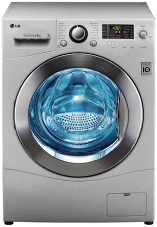 LG 8 Kg Fully automatic front load Washing machine - F1496TDP23
