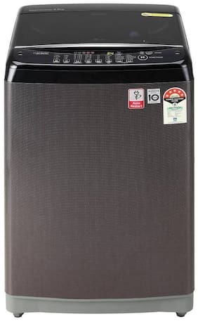 LG 8 Kg Fully automatic top load Washing machine - T80SJBK1Z , Black