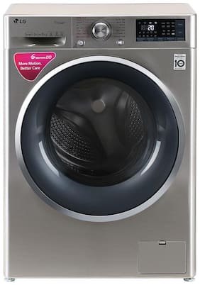LG 8 Kg Fully automatic front load Washing machine - FHT1408SWS , Silver