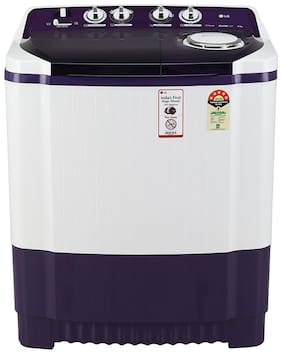 LG 8 Kg Semi automatic top load Washing machine - P8035SPMZ , Purple