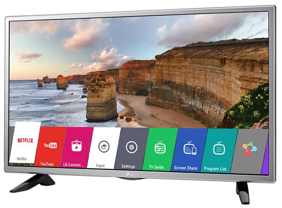 LG 32 Inches HD Ready LED Smart TV (32LH576D, Grey)