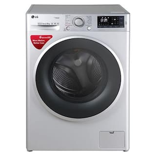 LG 9 kg Fully automatic front load Washing machine - FHT1409SWL , Silver