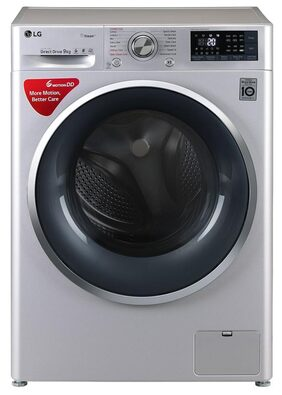 LG 9 Kg Fully Automatic Front Load  Washing Machine (FHT1409SWL,Luxury Silver)