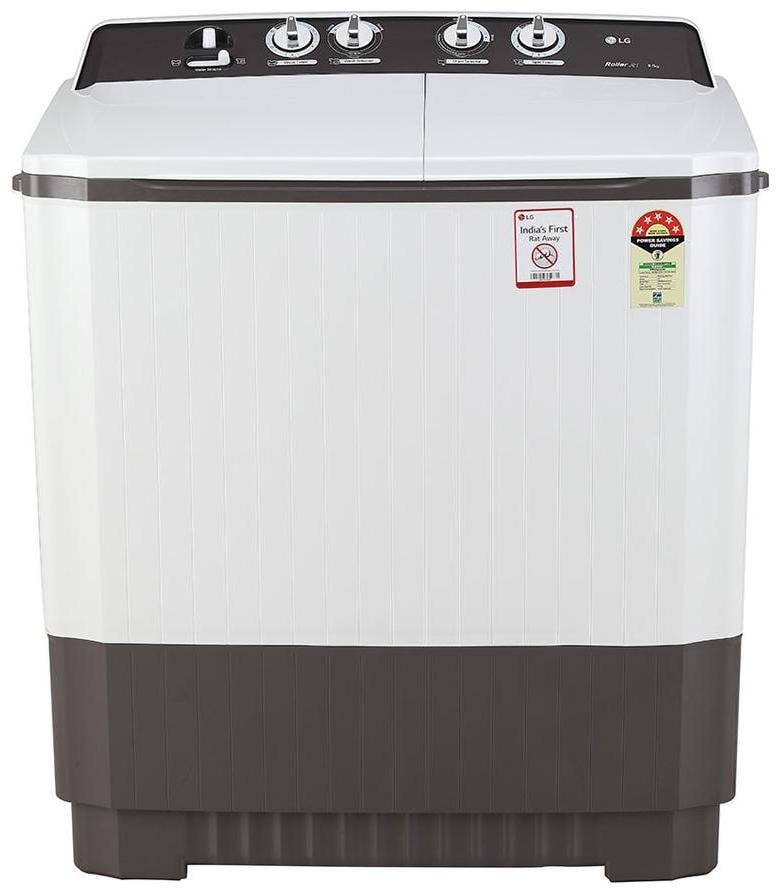 LG 9 Kg Semi Automatic Top Load Washing Machine (P9040RGAZ, Dark Grey)