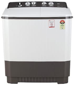 LG 9 kg Semi Automatic Top Load Washing machine - P9040RGAZ , Dark grey