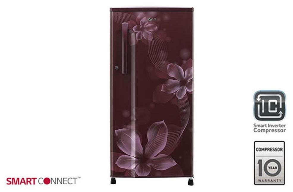 LG GL B191KSOW 188Ltr Single Door Refrigerator