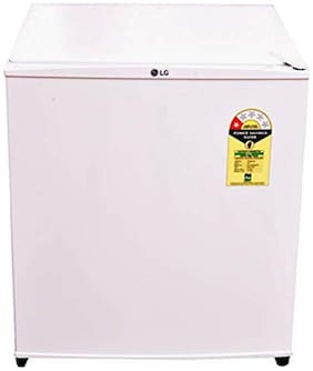 LG Direct Cool 45 L Single Door Refridgerator ( Gl-051ssw , White )