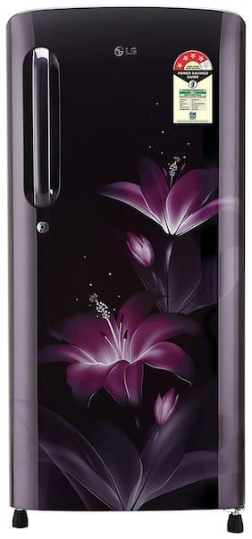 LG 190 ltr 4 star Direct cool Refrigerator - GL-B201APGX , Purple glow