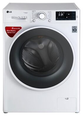 LG Fully Automatic Front Load Washing Machine ( Fht1207sww , Silver )