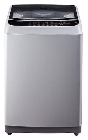 LG 7 kg Fully automatic top load Washing machine - T8081NEDLJ , Middle free silver