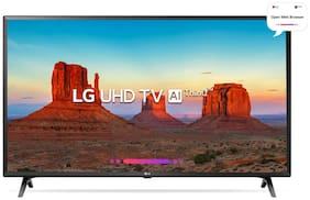 LG Smart 124.46 cm (49 inch) 4K (Ultra HD) LED TV - 49UK6360PTE