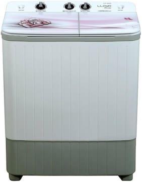 Lloyd 7 Kg Semi Automatic Top Load Washing machine - LWMS70HE1 , Light grey