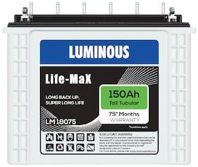 Luminous LM18075150AH 150 Ah Tall-Tubular Inverter Battery