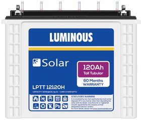 Luminous LPTT12120H 120Ah Solar Tall Tubular Battery