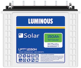 Luminous LPTT12150H150AH 150 Ah Tall-Tubular Inverter Battery