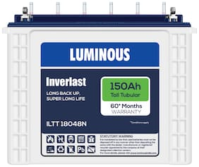 Luminous LTT18048N150AH 150 Ah Tall-Tubular Inverter Battery