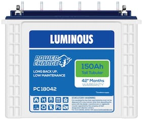 Luminous (PC 18042) 150 Ah Tubular Inverter Battery