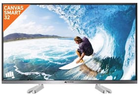 Micromax 81 cm (32 inch) 32CANVASS2 HD Ready Smart LED TV