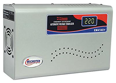 Microtek Em4140+ Digital Display for Ac Upto 1.5ton  140v 290v  Voltage Stabilizer by K3 Stores