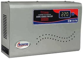 Microtek EM4170+ Voltage Stabilizers (White)