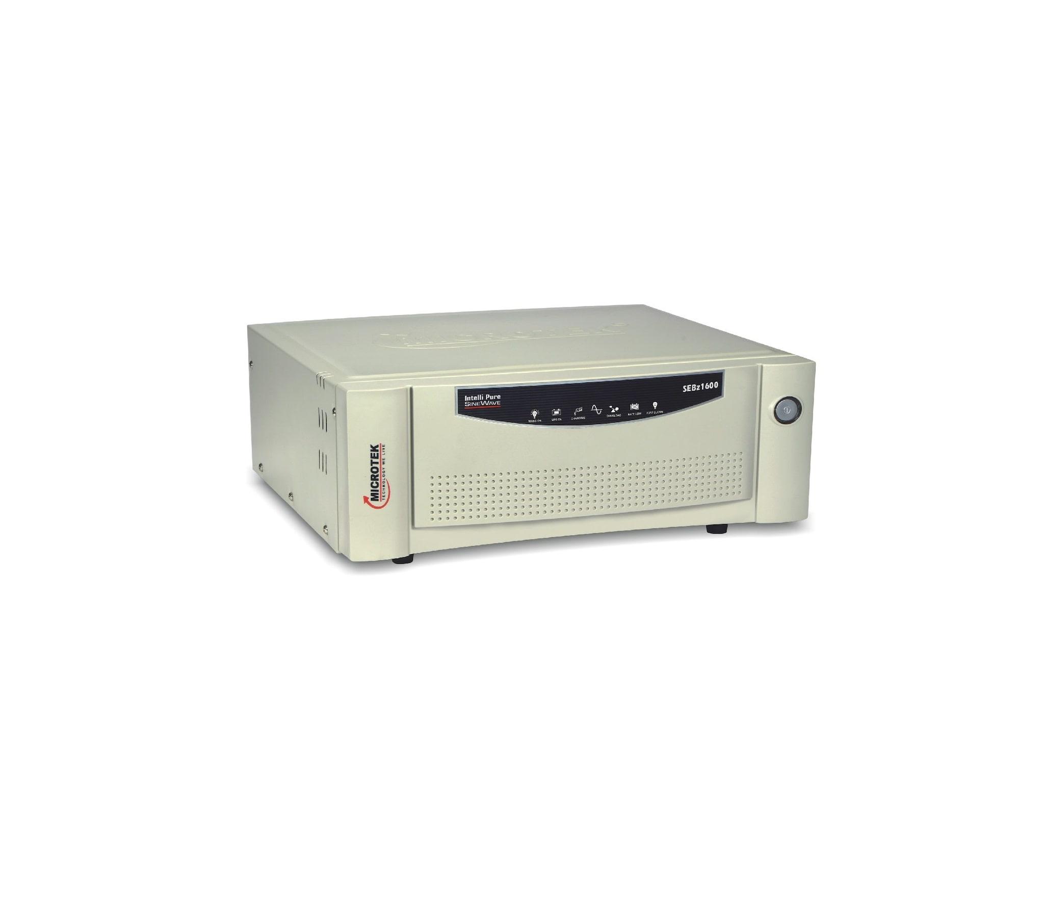 Microtek UPS SEBZ 1600 VA Inverters