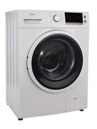Carrier Midea 7 kg Fully Automatic Front Load Washing Machine (MWMFL070CPR, White)