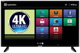Mitashi Smart 101.6 cm (40 inch) 4K (Ultra HD) LED TV - MiDE040v03 FS