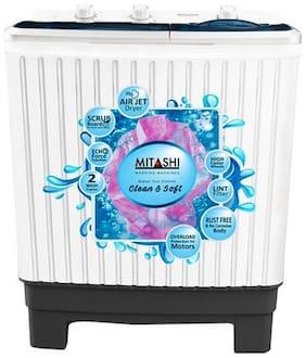 Mitashi 7 Kg Semi automatic top load Washing machine   MISAWM70V25 AJD , White   Grey
