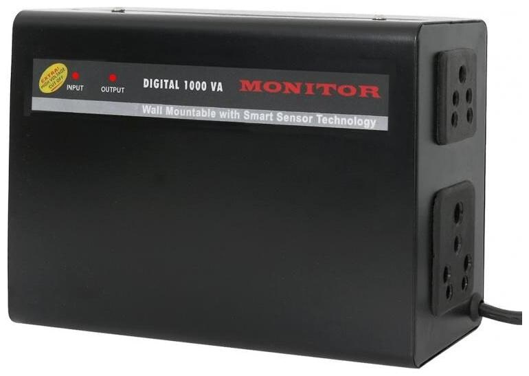 Monitor Voltage Stabilizer For LED TV Upto 65 Inches   100% Copper  With 5 Year Warranty