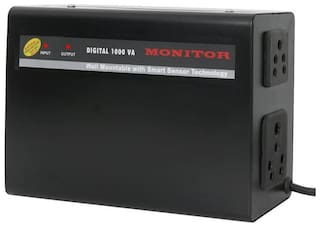 Monitor Voltage Stabilizer For LED TV Upto 65 Inches  (100% Copper) With 5-Year Warranty