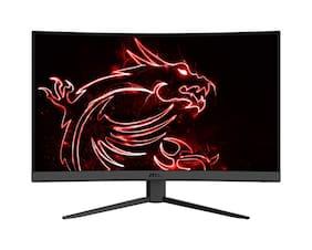 MSI Optix G27C4 68.58 cm (27 inch) Full HD LED Monitor HDMI & Display Port Gaming & 165Hz Refresh Rate
