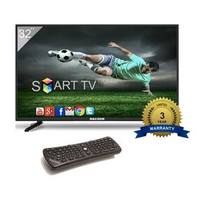 Nacson NS8016smart 80 cm (32)HD Ready Standard LED TV with Airfly Remote