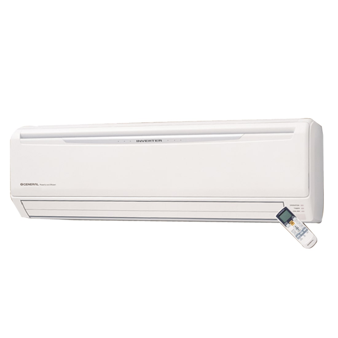 O General 1.5 Ton 5 Star Inverter Split AC (Copper Condensor, ASGA18JCC, White)