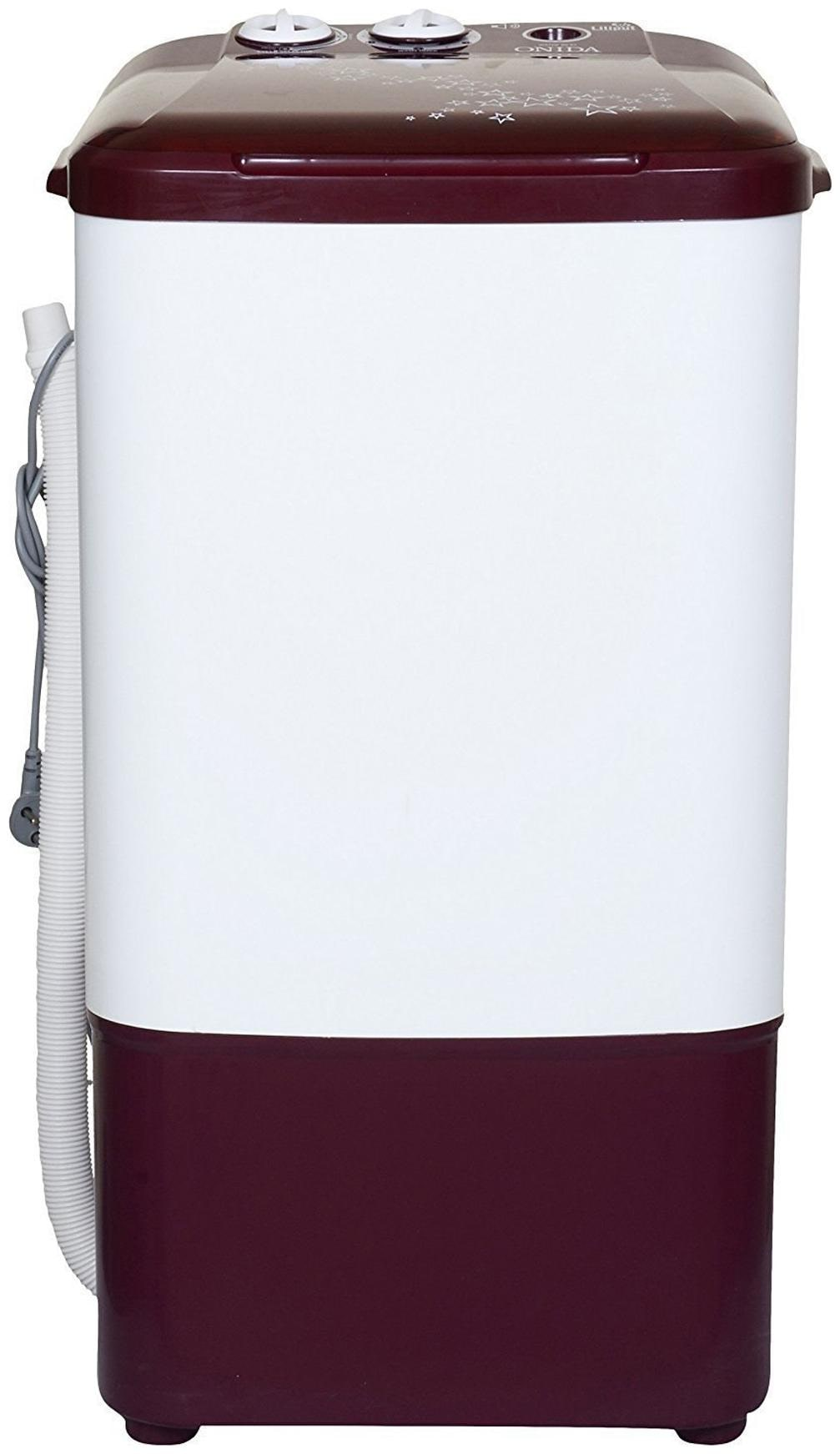 Onida 6.5 kg Semi Automatic Top Load Washer only   WS65WLPT1LR LILIPUT , Lava red
