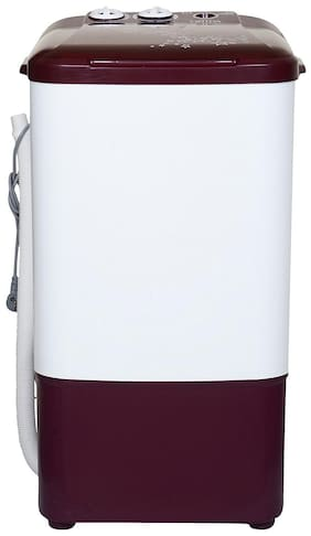 Onida 6.5 kg Semi automatic top load Washer only - WS65WLPT1LR LILIPUT , Lava red