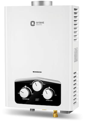 Orient Vento gas water heater(6 Lts)(LPG)(without display) GWVN06WLMW