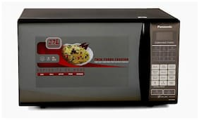 Panasonic 27 L Convection Microwave Oven - NN-CT64HBFDG , Black