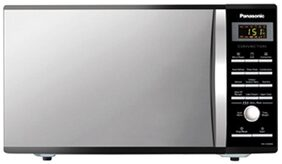 Panasonic 27 L Convection Microwave Oven (NN-CD684B, Metallic Silver)