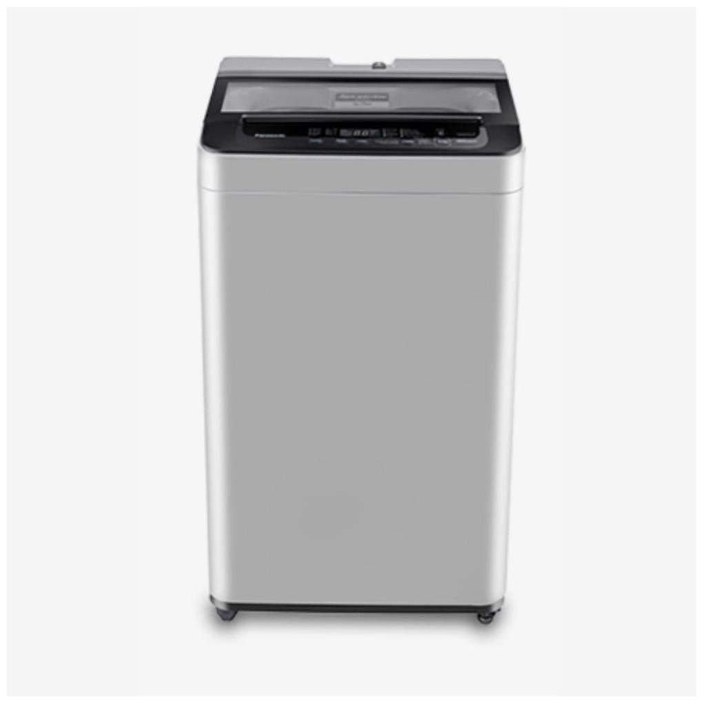 Panasonic 6.2 kg Fully automatic top load Washing machine   NA F62L8MRB , Silver by Crazy Deals